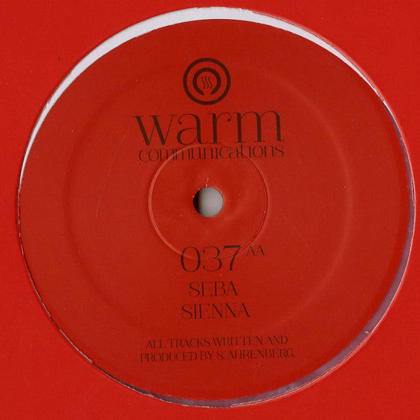 Seba ‎– Nichoho / Sienna [Warm Communications]