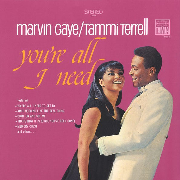 Marvin Gaye / Tammi Terrell* – You're All I Need