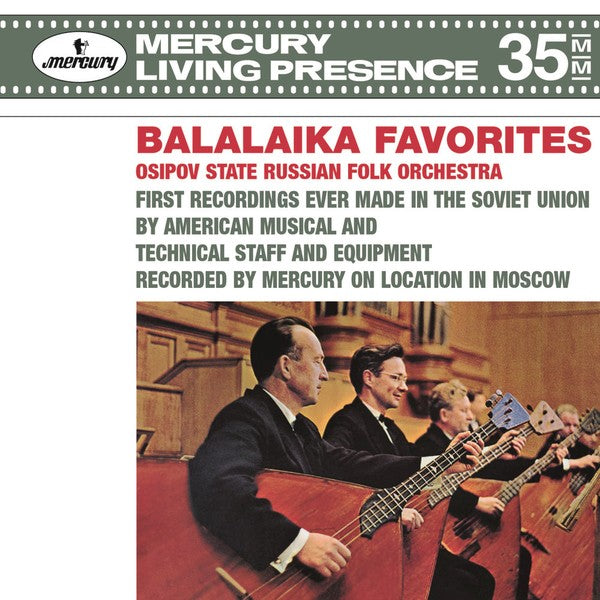 Osipov State Russian Folk Orchestra* – Balalaika Favorites