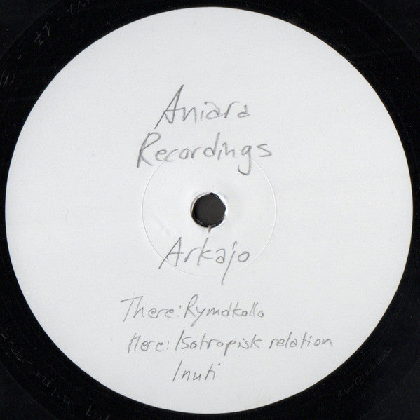 Arkajo ‎– Rymdkollo [Aniara Recordings] VINYL ONLY