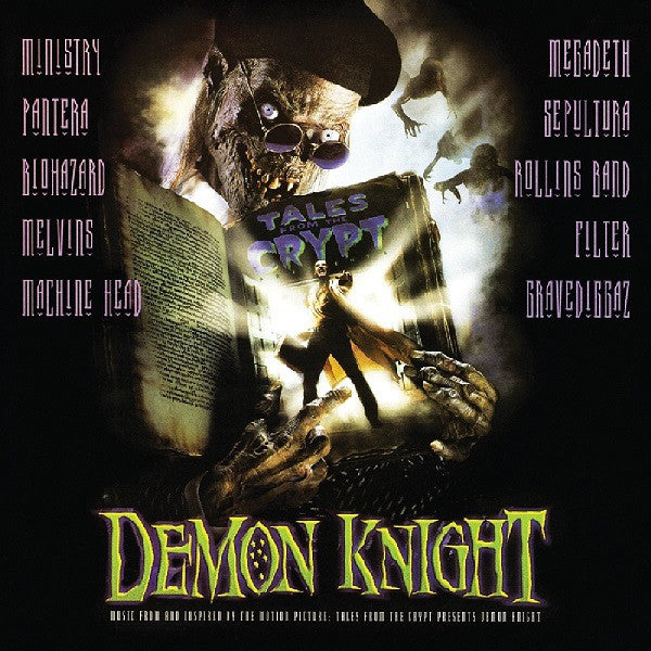 Various ‎– Demon Knight - Music From And Inspired By The Motion Picture : Tales From The Crypt Presents Demon Knight