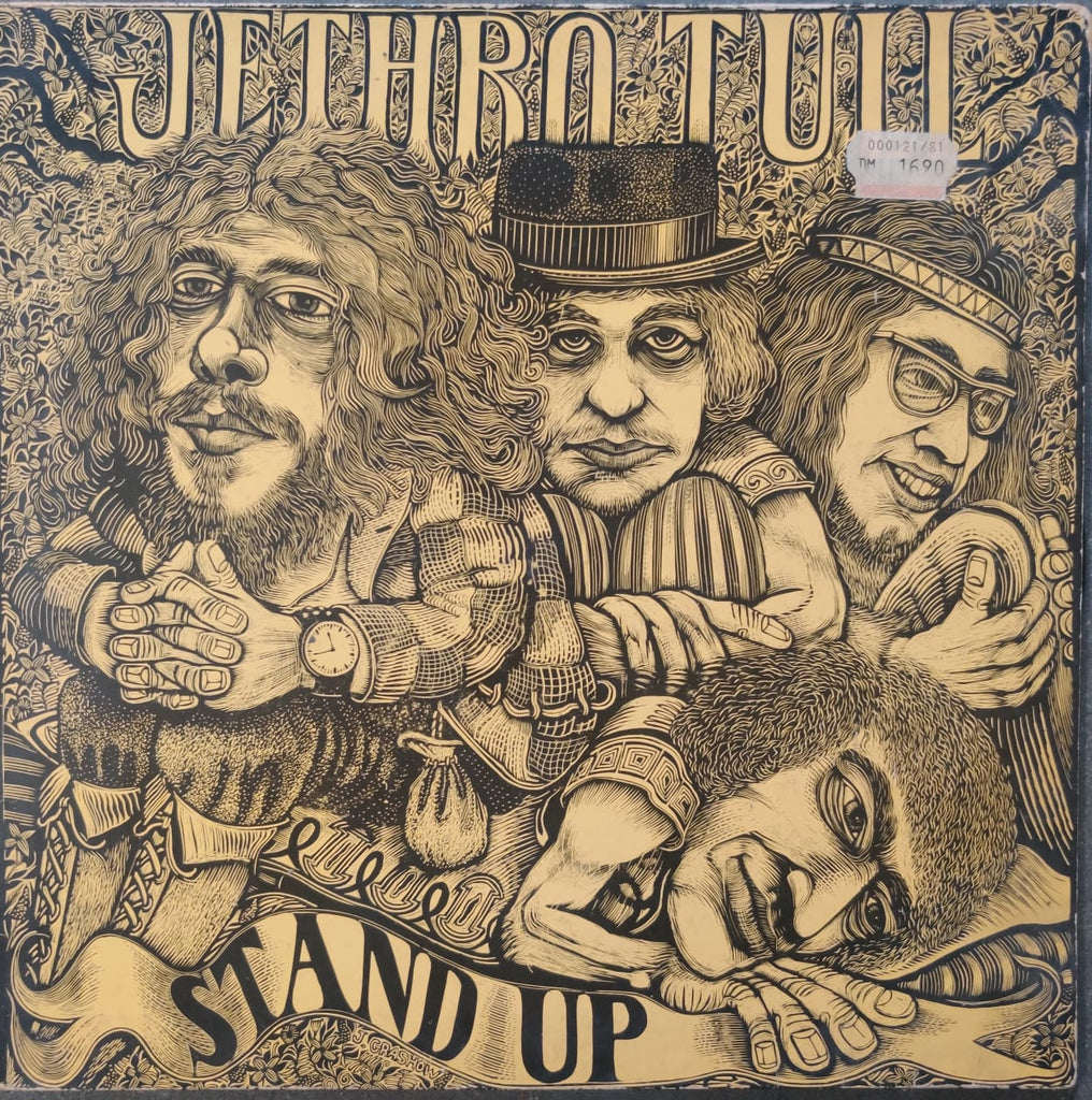Jethro Tull ‎– Stand Up (Used Vinyl ) VG