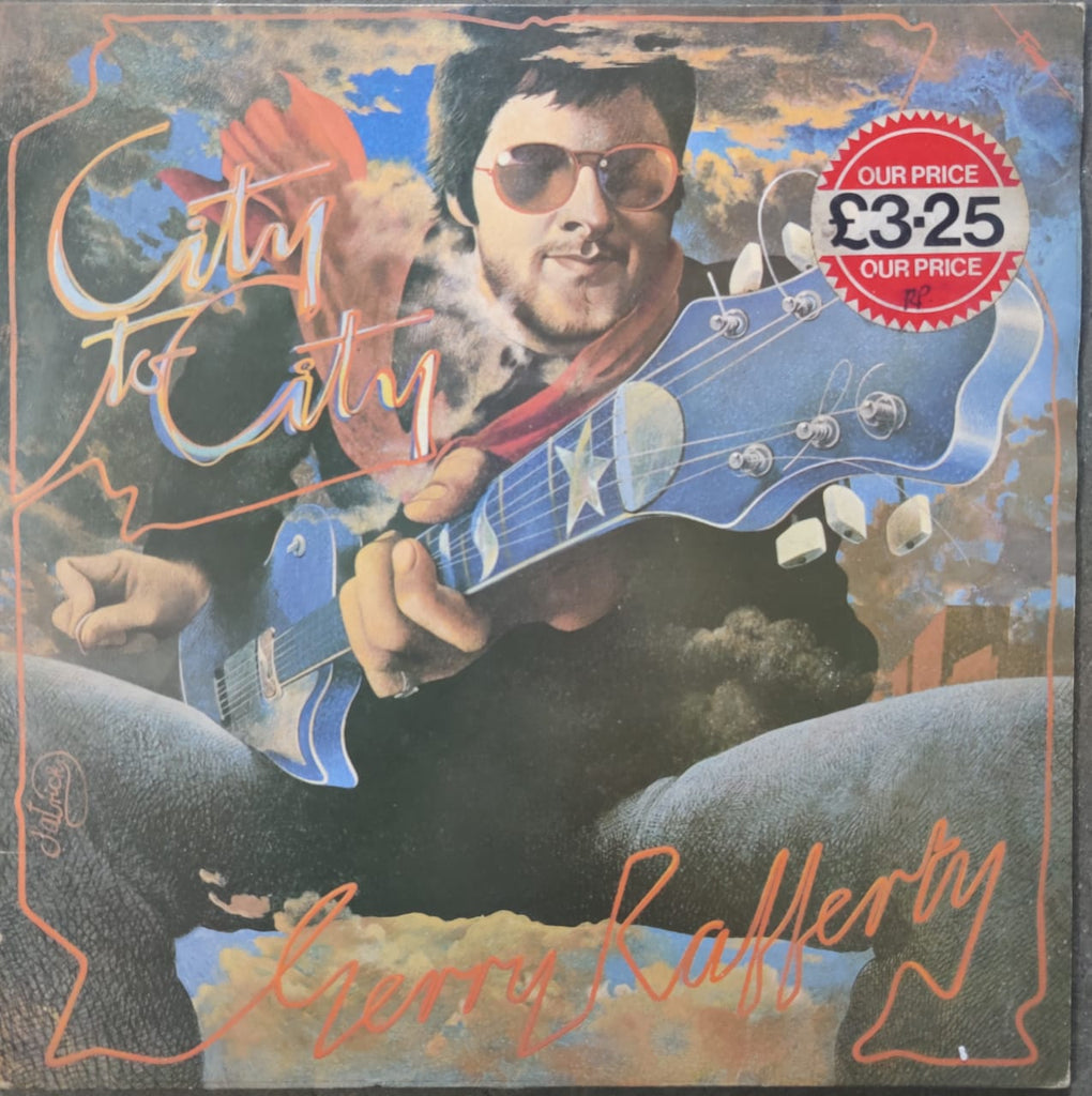 Gerry Rafferty ‎– City To City (Used Vinyl ) VG