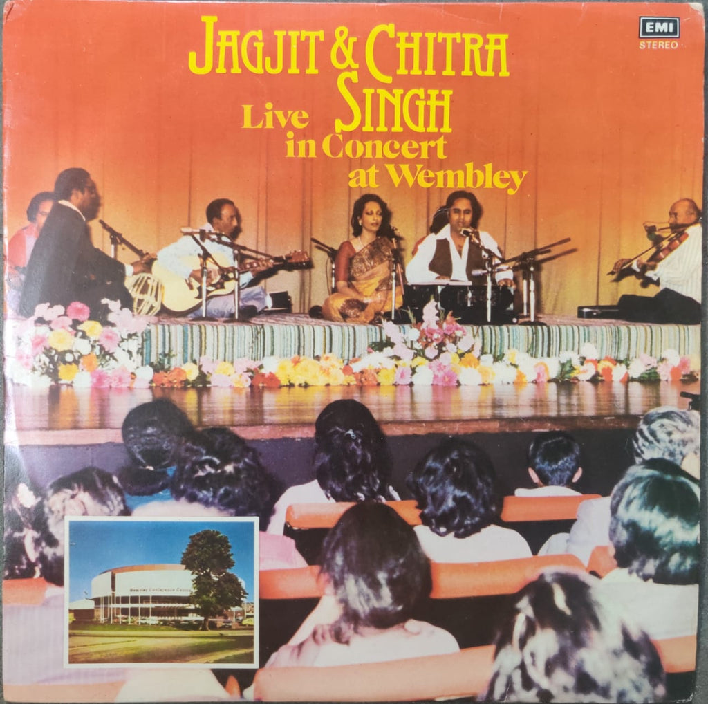 Live In Concert At Wembley Vol 1  By Jagjit & Chitra Singh  (Used Vinyl)  VG