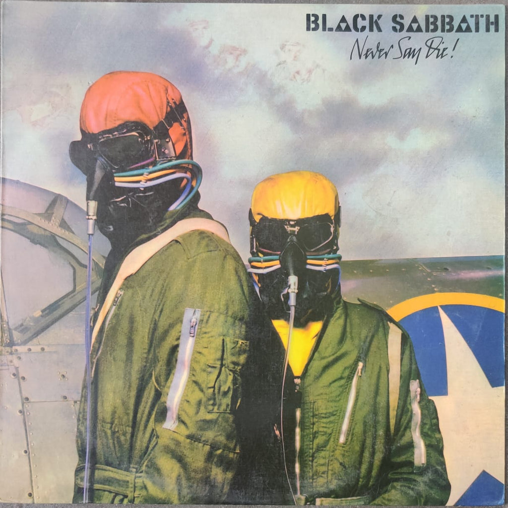 Black Sabbath ‎– Never Say Die! (Used Vinyl )  VG