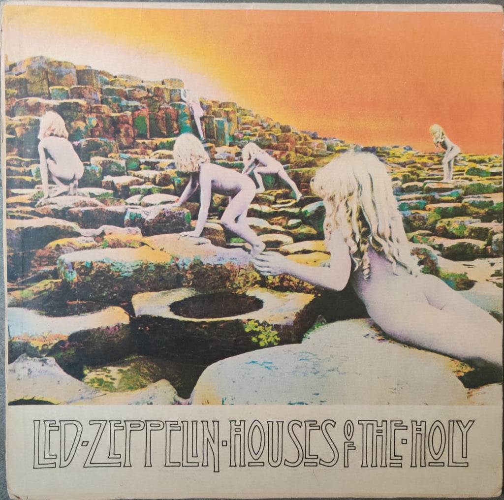 Houses Of The Holy By Led Zeppelin   (Used Vinyl )  VG