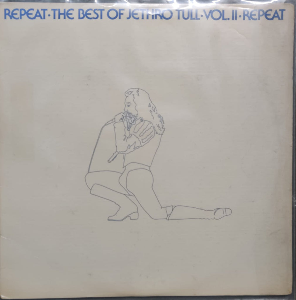 Jethro Tull ‎– Repeat - The Best Of Jethro Tull - Vol. II (Used Vinyl ) VG