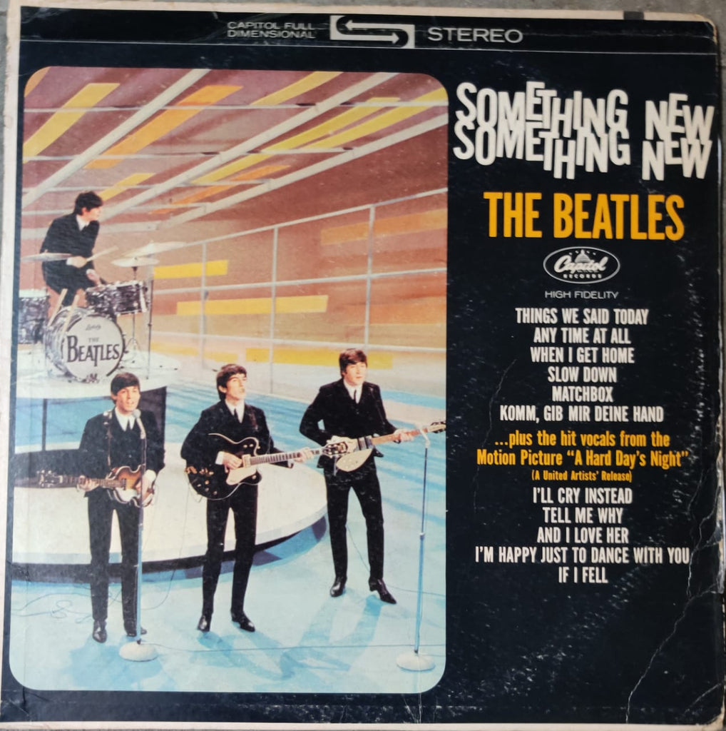 The Beatles ‎– Something New (Used Vinyl ) Good