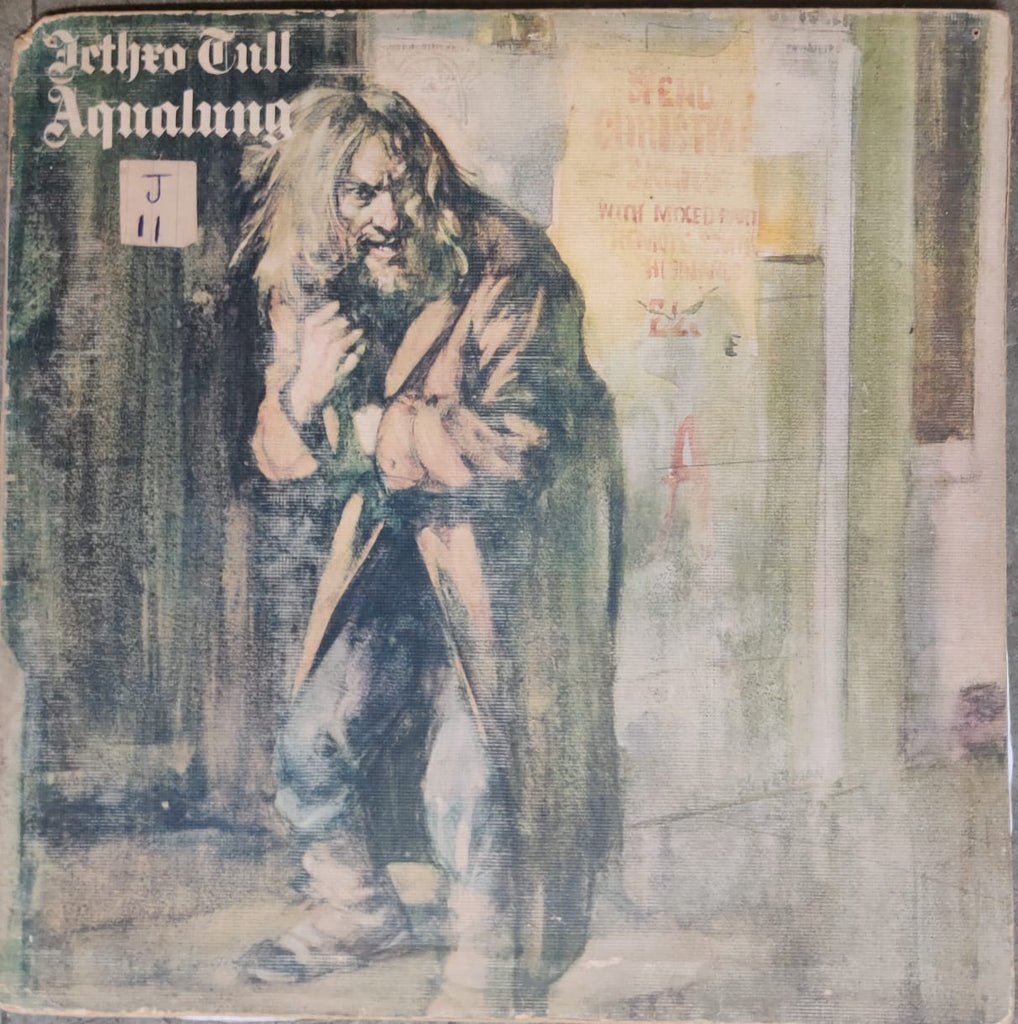 Aqualung By Jethro Tull (Used Vinyl ) Good