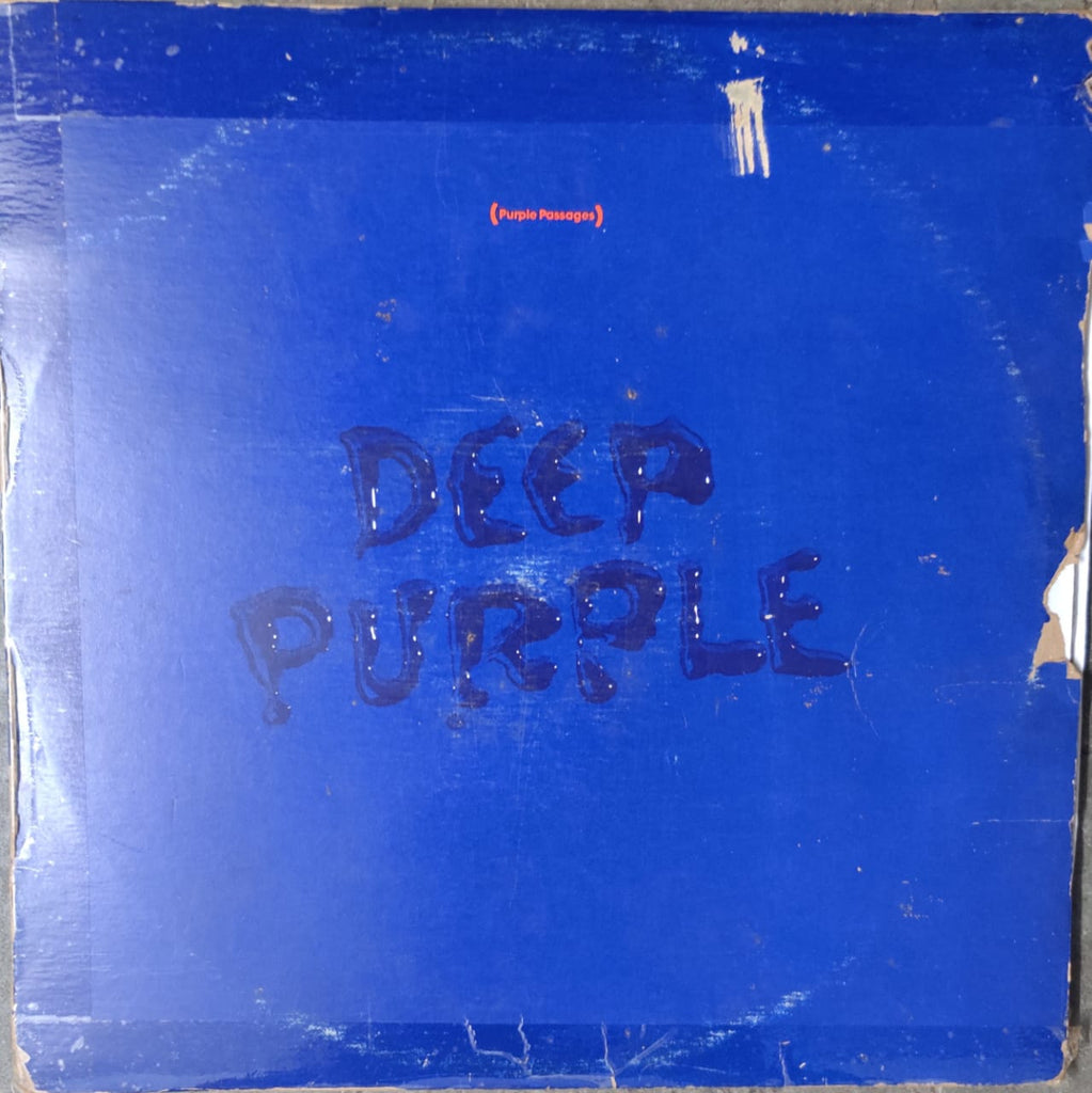 Deep Purple ‎– Purple Passages) (Used Vinyl ) VG