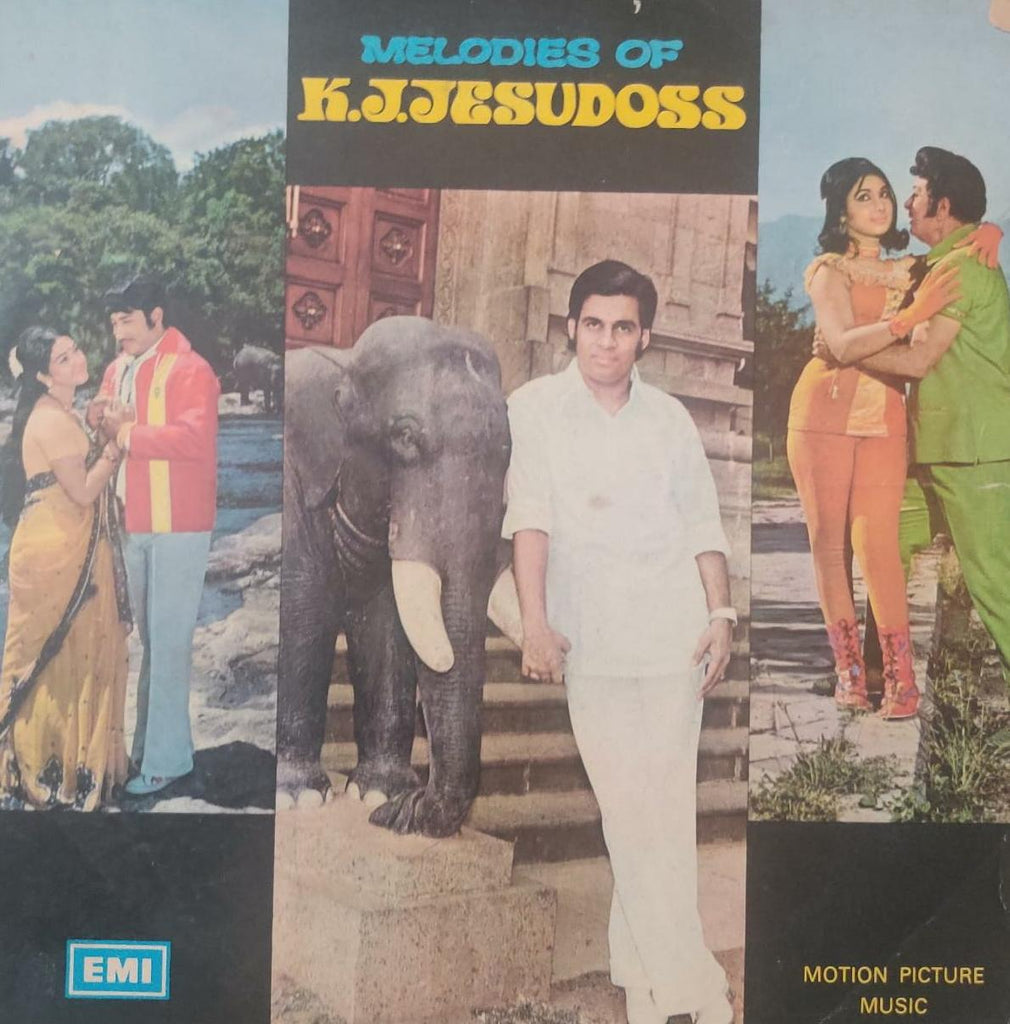 Melodies Of K.J.Jesudoss - K. J. Jesudoss‎ (‎Used LP) G
