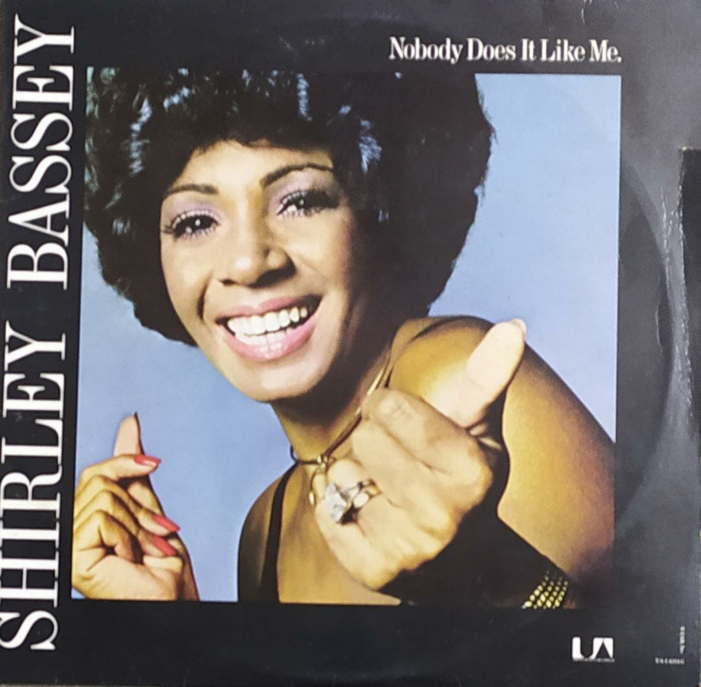 Nobody Does It Like Me  –  Shirley Bassey ‎(Used Vinyl) VG