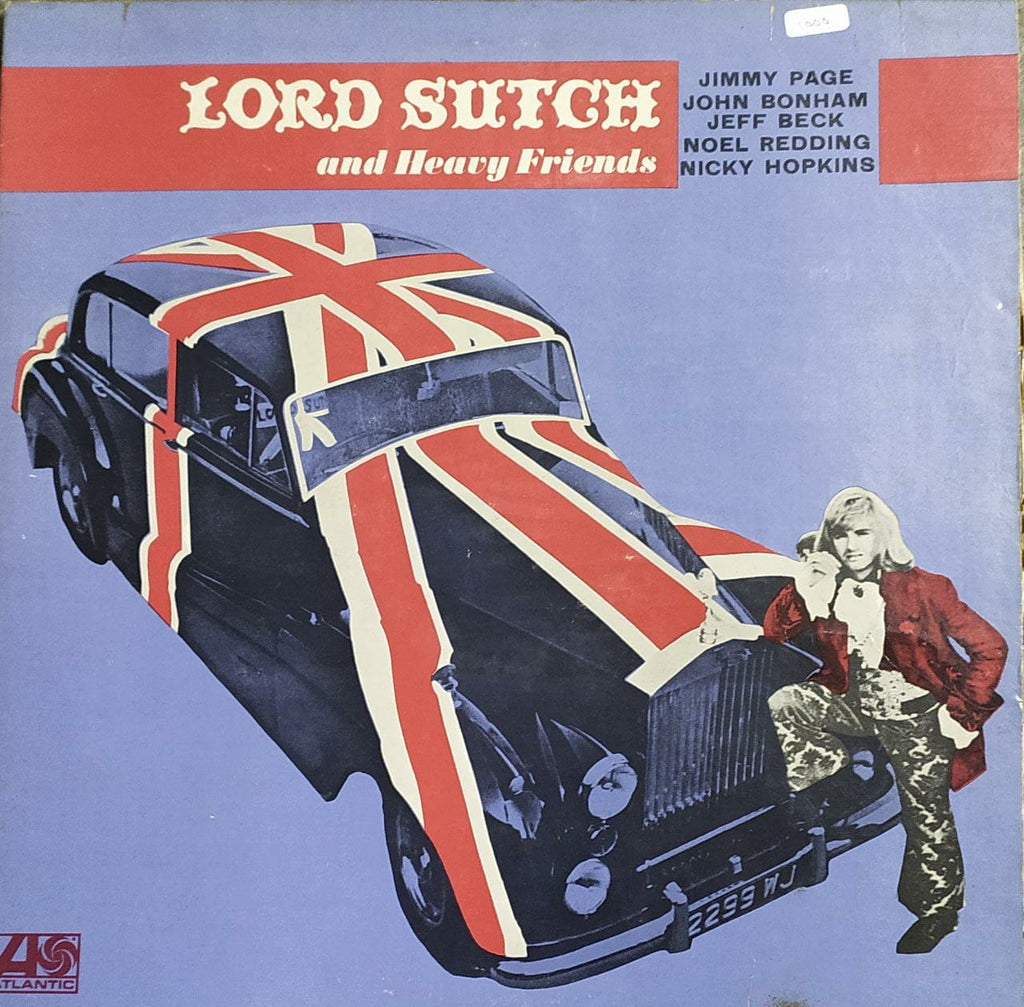 Lord Sutch And Heavy Friends ‎– Lord Sutch And Heavy Friends (used Vinyl) VG
