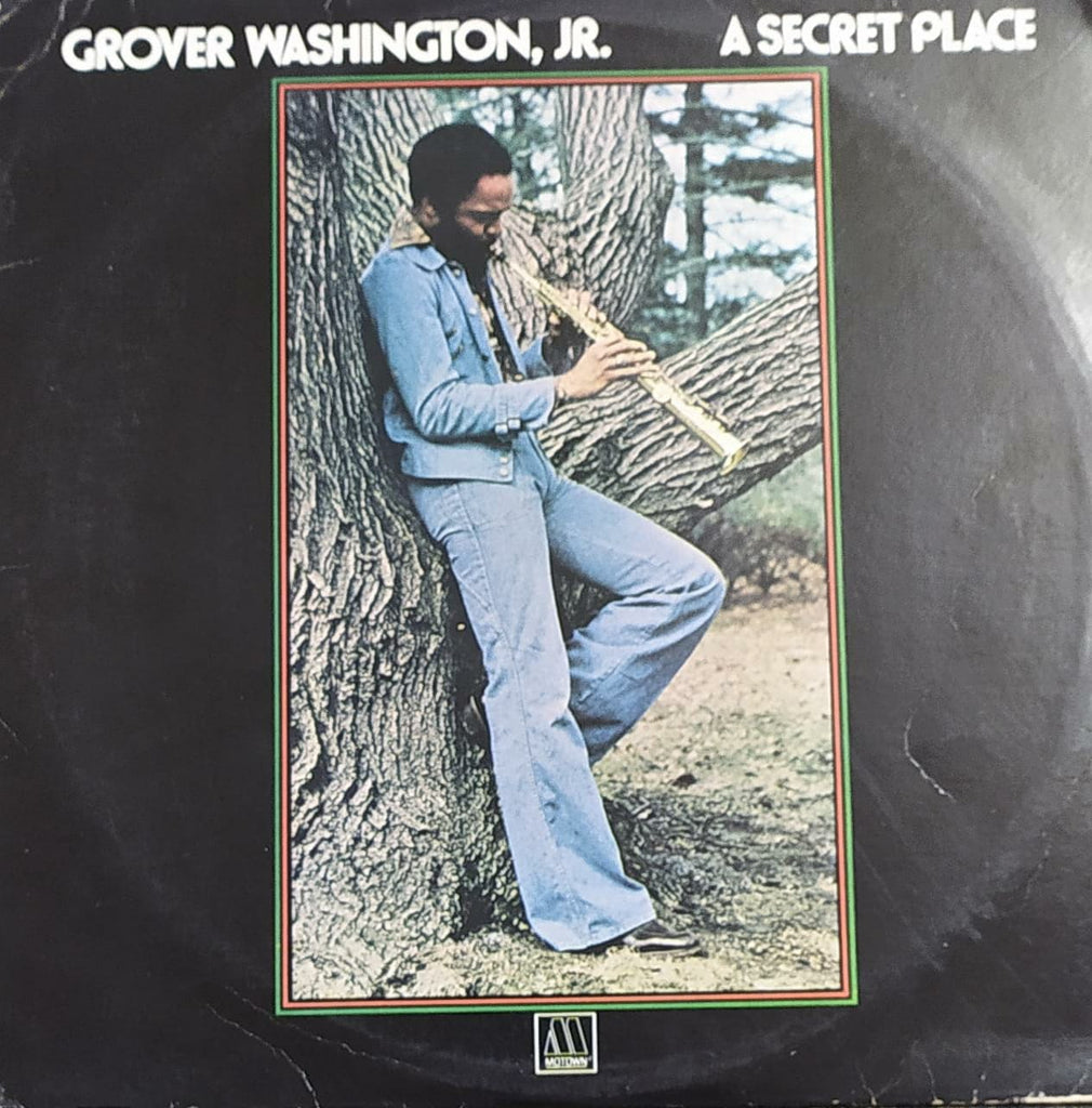 A Secret Place  ‎– Grover Washington, Jr. (Used Vinyl) VG