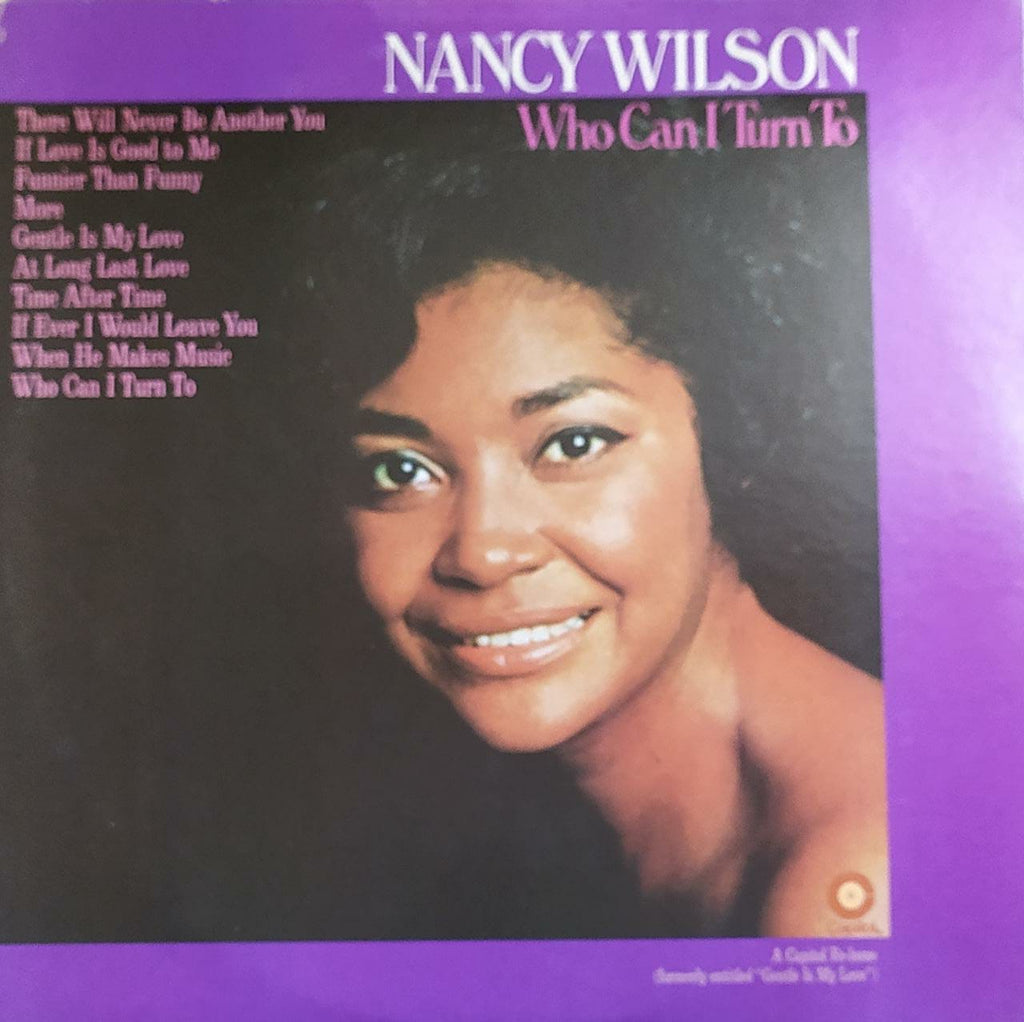 Who Can I Turn To ‎ ‎–  Nancy Wilson (Used Vinyl) VG+
