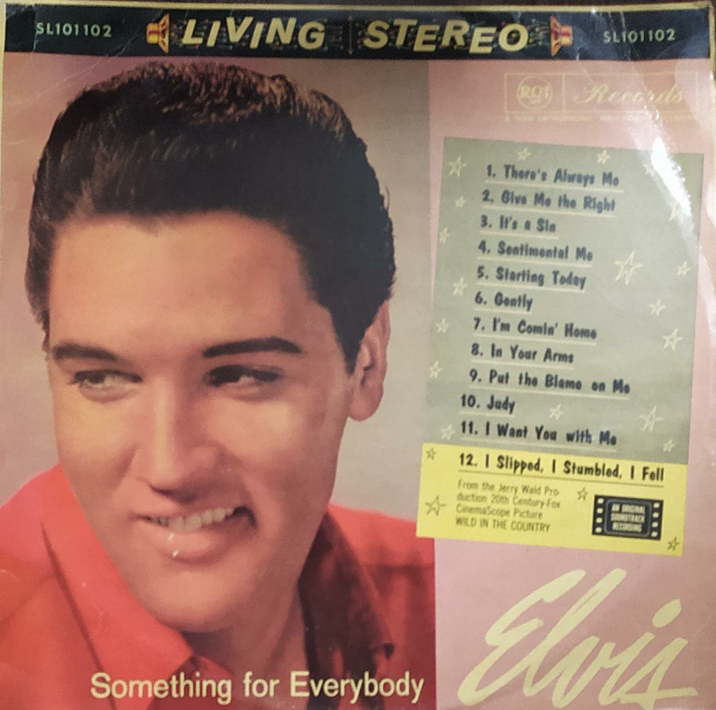 Something For Everybody  ‎– Elvis Presley  (Used Vinyl) VG