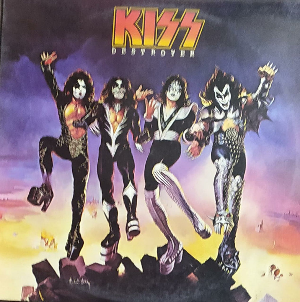 Destroyer –  Kiss ‎(Used Vinyl) VG