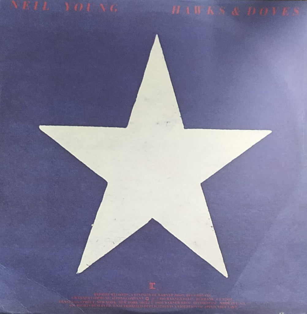 Hawks & Doves – Neil Young ‎  (Used Vinyl ) VG