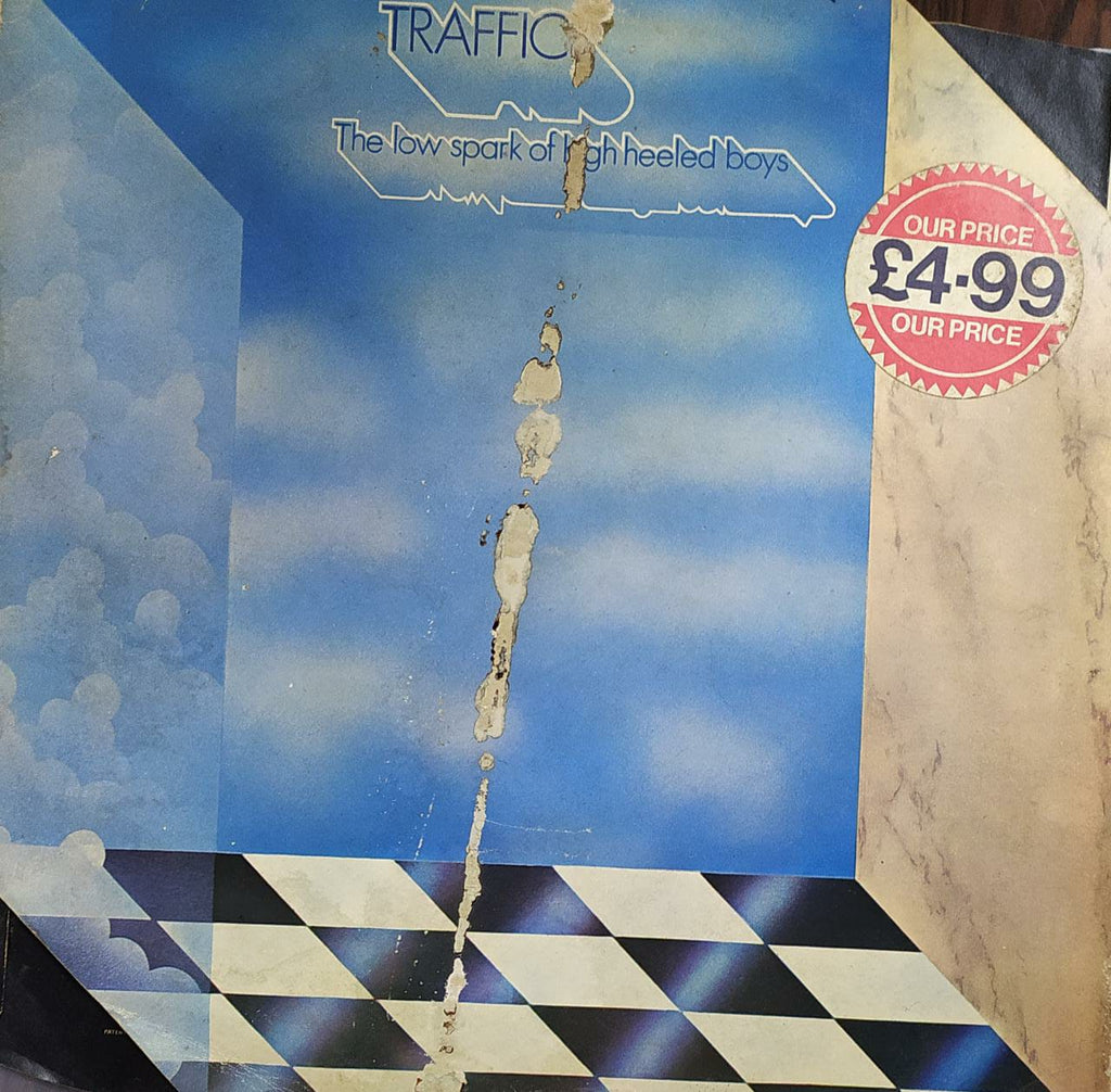 The Low Spark Of High Heeled Boys ‎– Traffic  (Used Vinyl )  VG