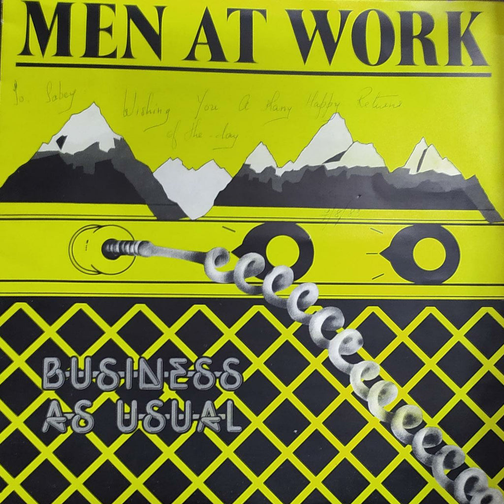 Men at Work - Business as Usual (Used Vinyl) G
