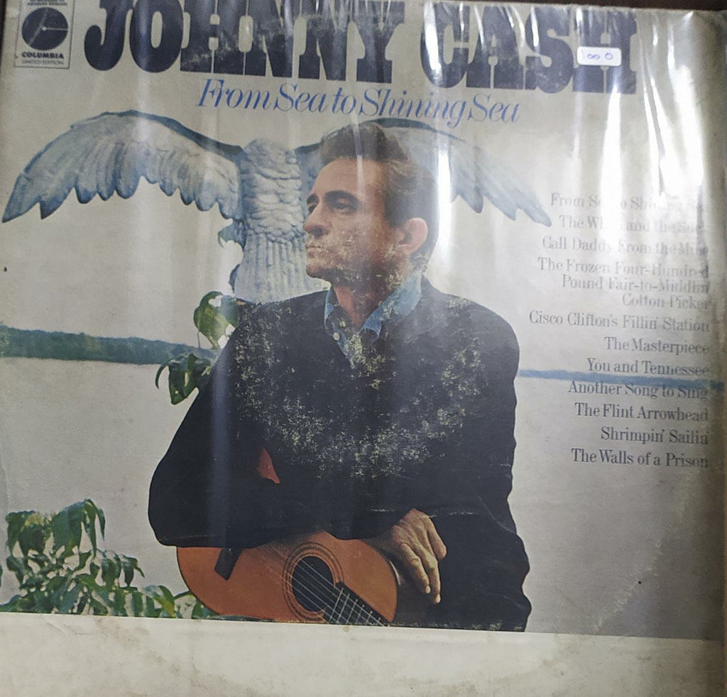 From Sea To Shining Sea ‎–  Johnny Cash   (Used Vinyl) VG