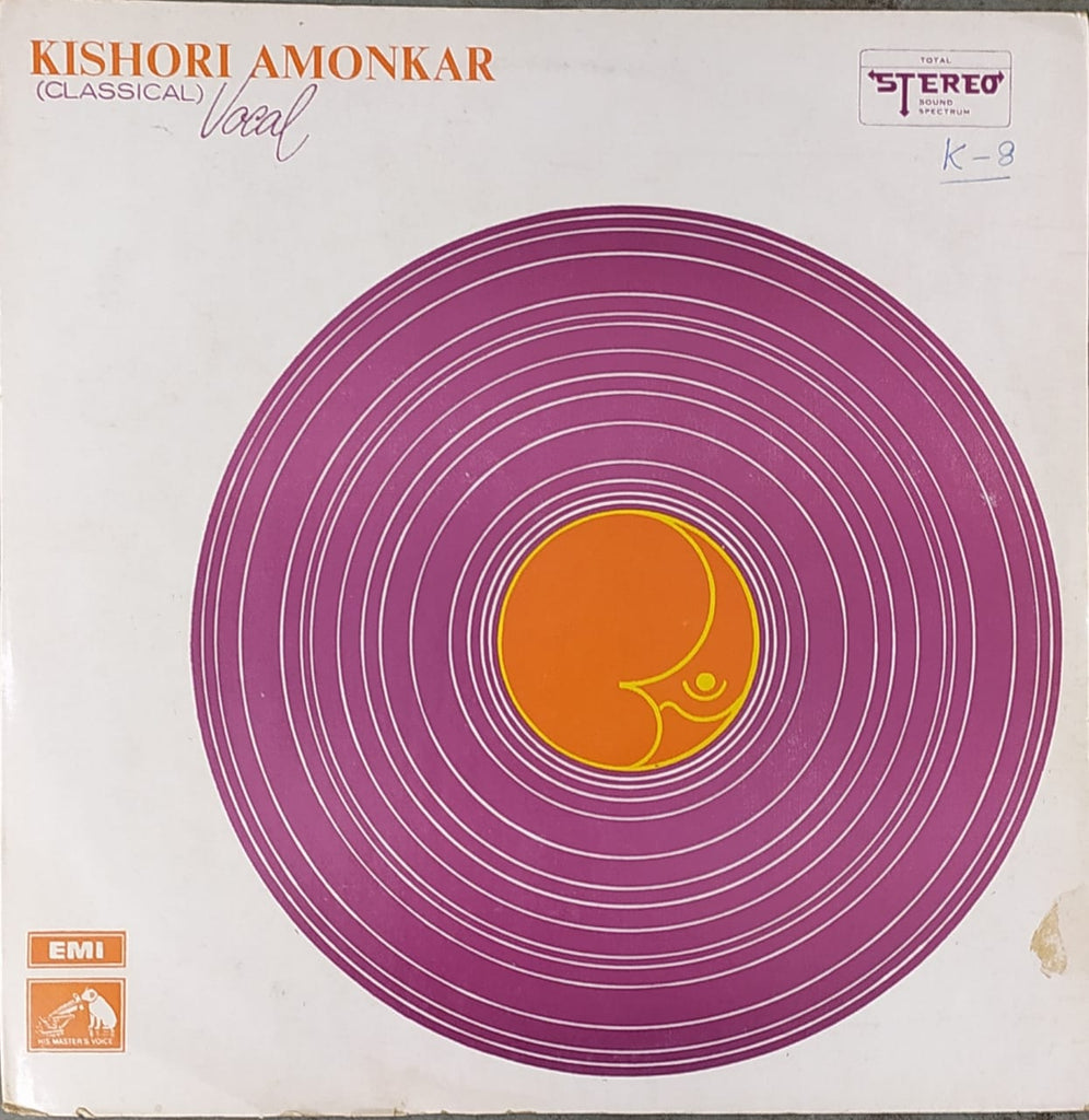 Classical Vocal By Kishori Amonkar ‎  (Used Vinyl) VG+