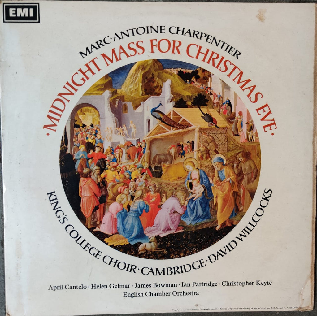 Marc-Antoine Charpentier*, Purcell*, King's College Choir • Cambridge* • David Willcocks ‎– Midnight Mass For Christmas Eve / Te Deum (Used Lp) VG