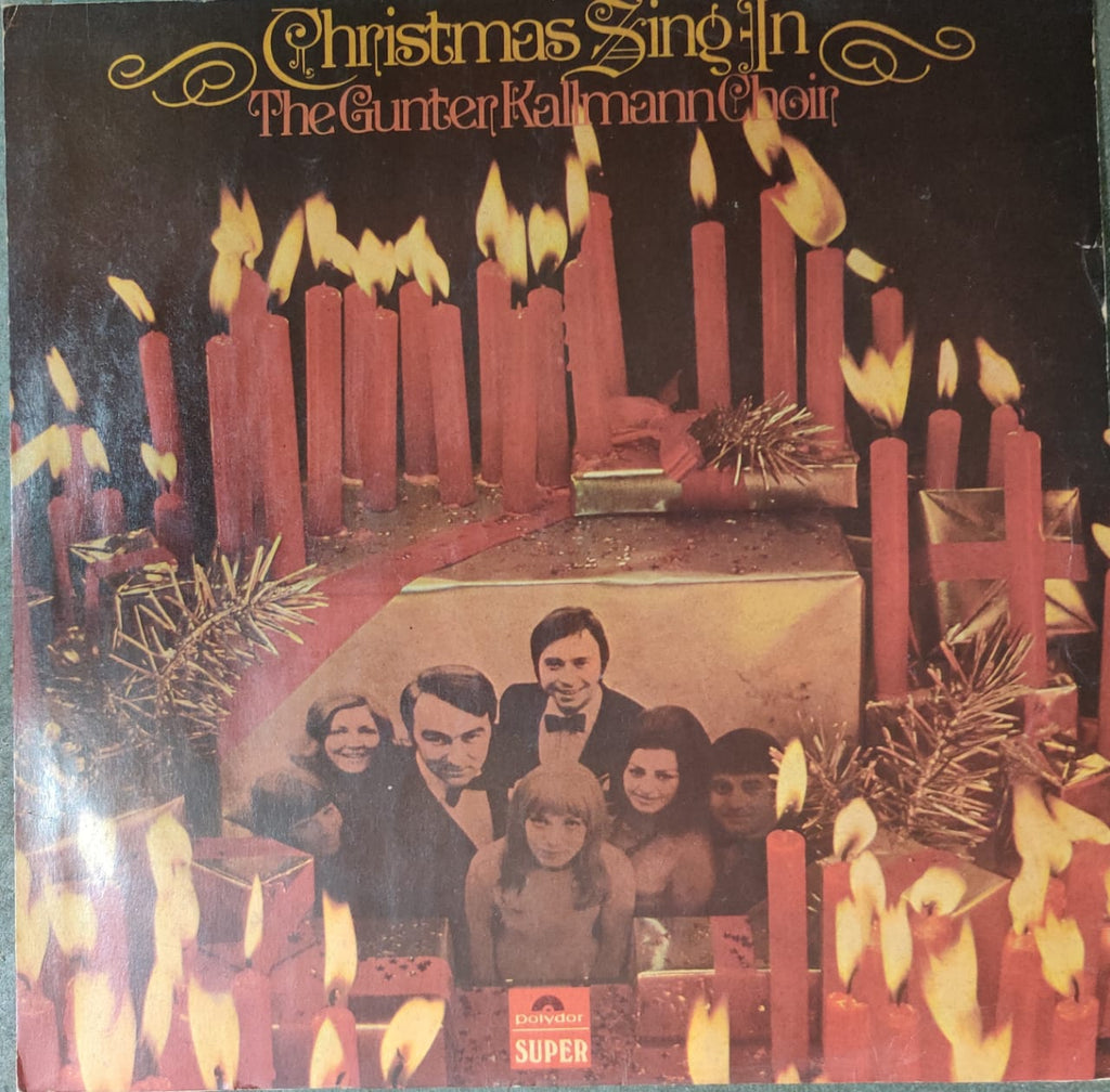 The Gunter Kallmann Choir* ‎– Christmas Sing-In With The Gunter Kallmann Choir (Used Lp) VG+