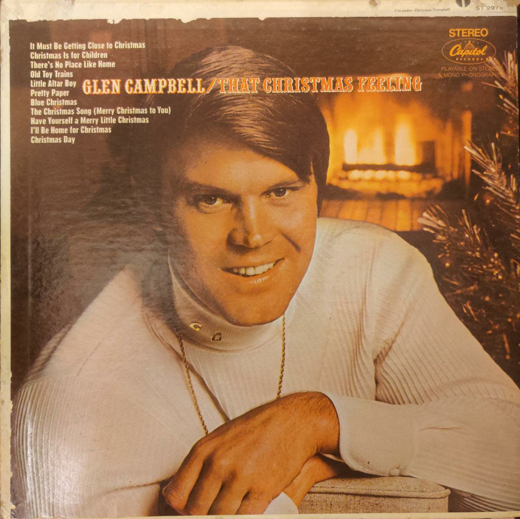 Glen Campbell ‎– That Christmas Feeling (Used Lp) VG