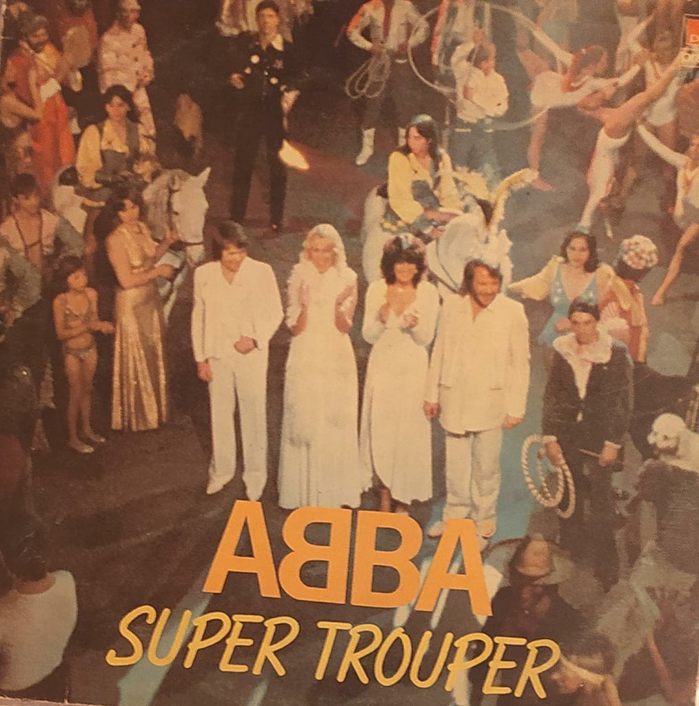 Super Trouper  By ABBA (Used Vinyl)  VG