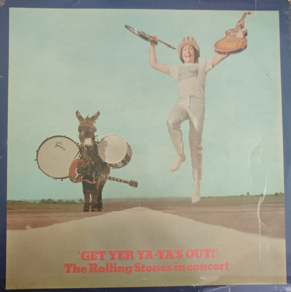 Get Yer Ya-Ya's Out! - The Rolling Stones In Concert By The Rolling Stones  (Used Vinyl ) VG