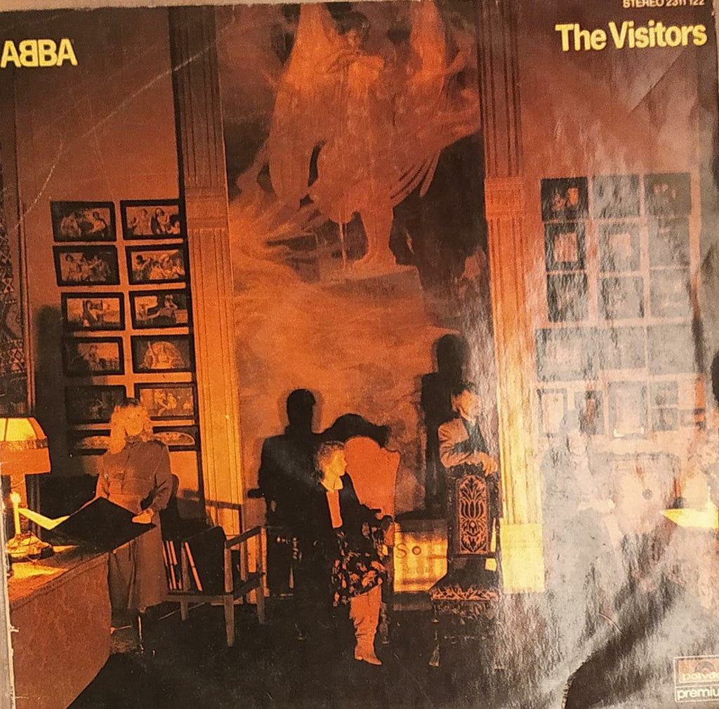 The Visitors By ABBA (Used Vinyl)  VG