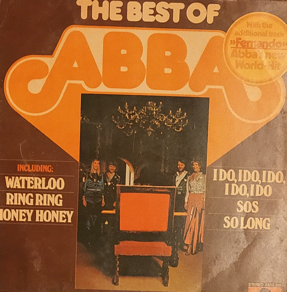 The Best Of ABBA By ABBA (Used Vinyl)  VG