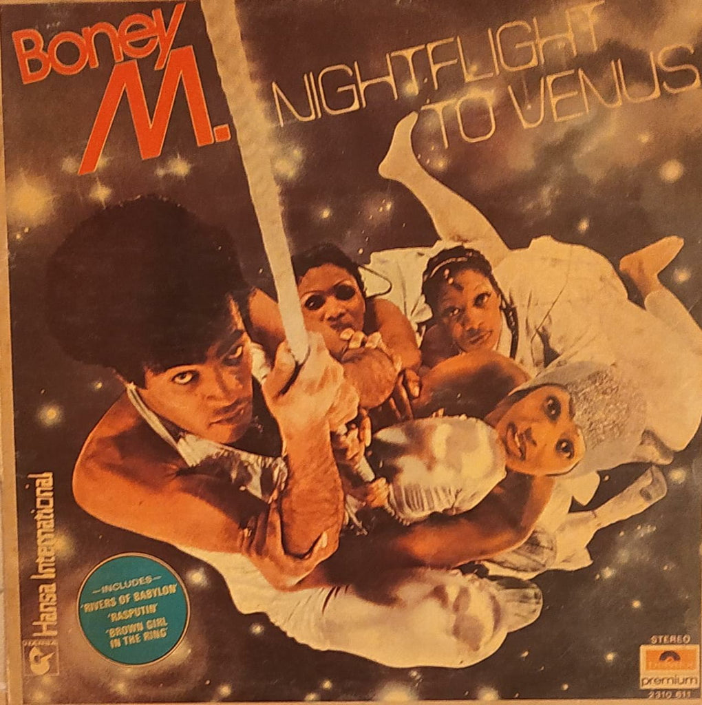 Nightflight To Venus By Boney M. (Used Vinyl)  VG