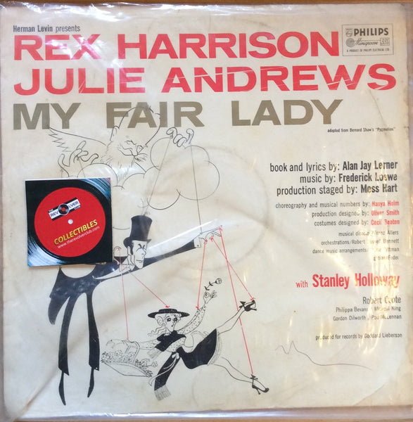 My Fair Lady By Rex Harrison, Julie Andrews