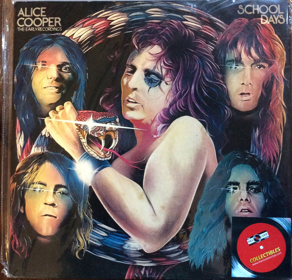 School Days - The Early Recordings By Alice Cooper
