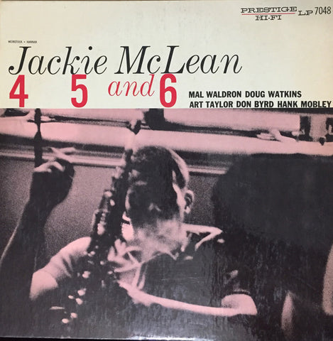 4, 5 And 6 By Jackie McLean
