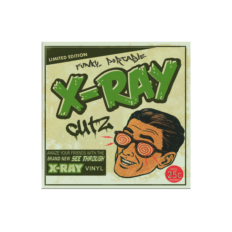 Funky Portable X-Ray Cutz - Green