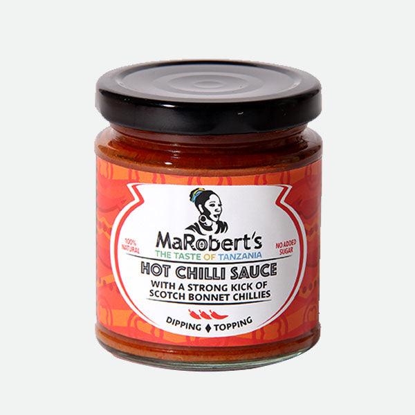 MaRobert's Hot Chilli Sauce