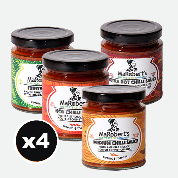 MaRobert's Sauces Mixed x 4