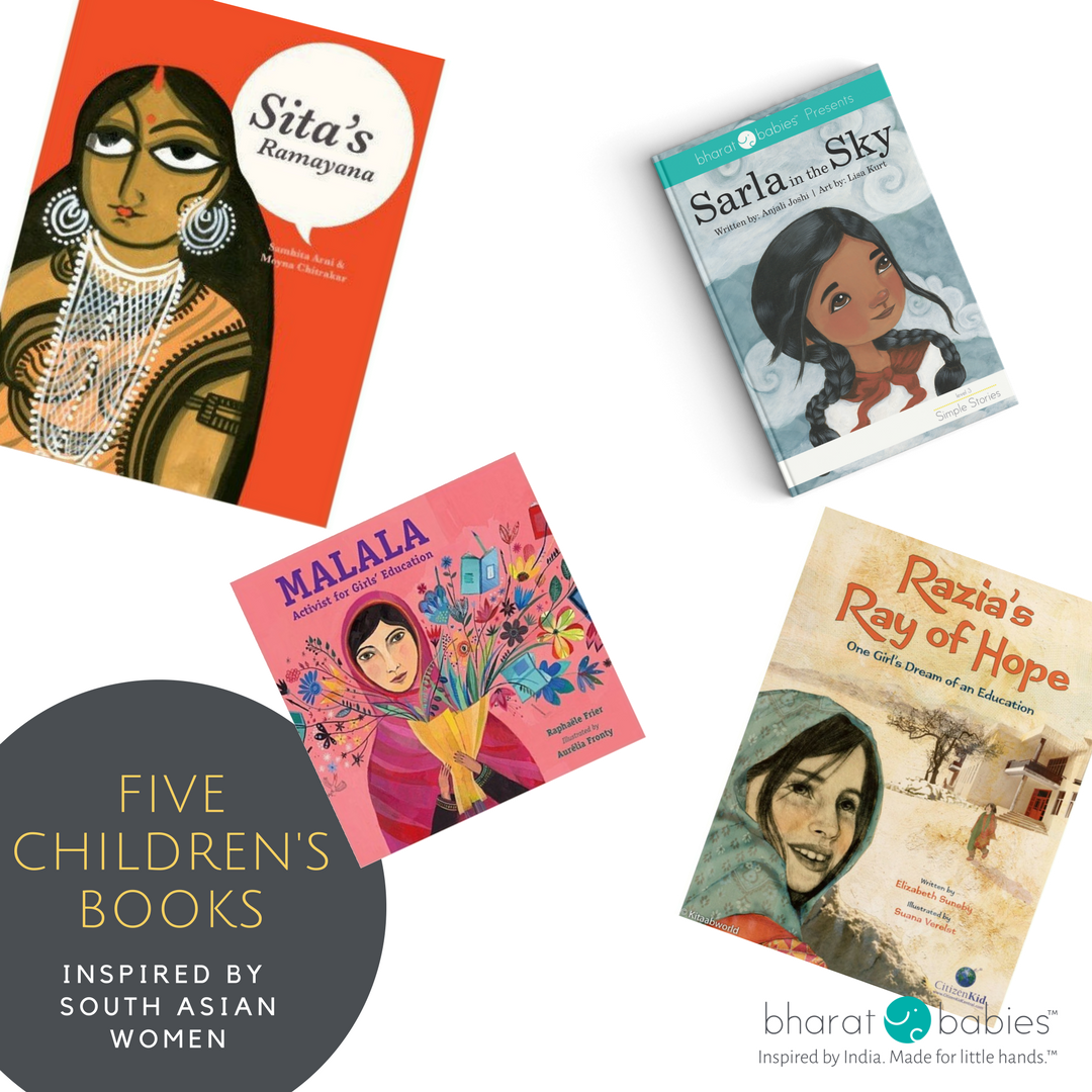 5 Children's Books that are inspired by South Asian Women