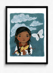 Sarla in the Sky Print