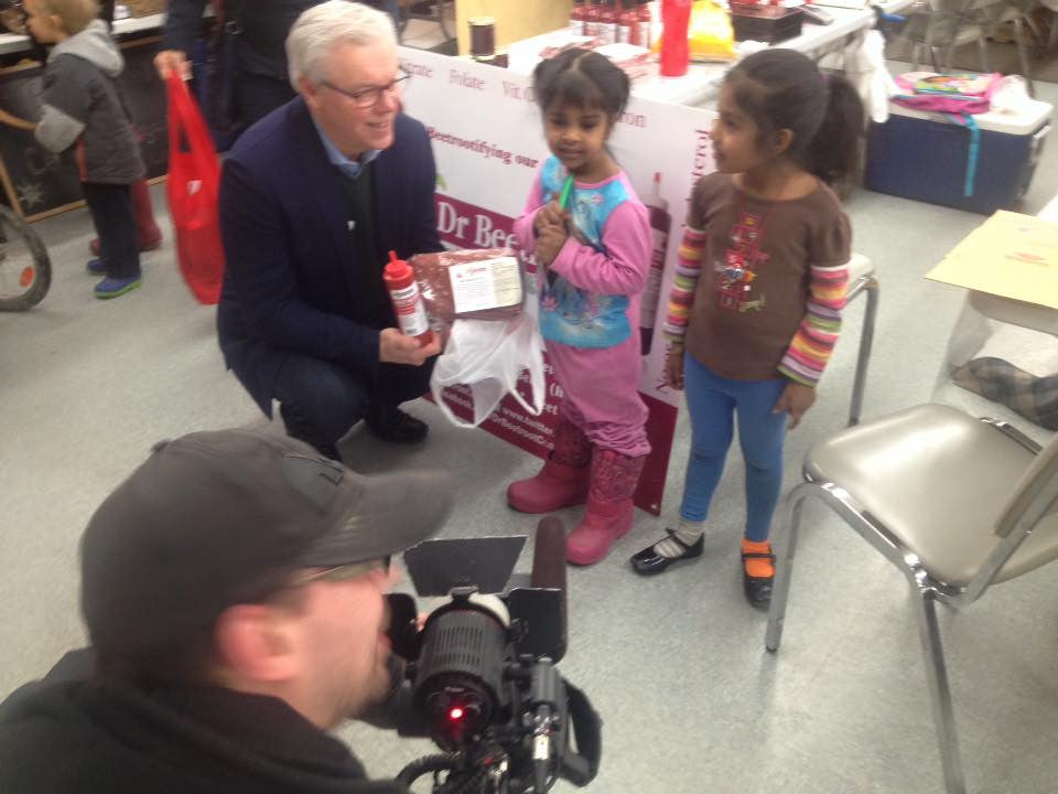 Former MB Premier Selinger bought our Beet Ketchup n Bread