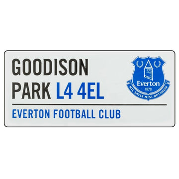 Everton Street Sign, Supporter - Accessories, Taylors - Football Galaxy