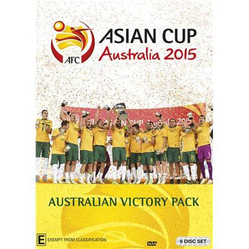 Asian Cup 2015 - Australian Victory Pack, DVD, Madman Entertainment Pty Ltd - Football Galaxy