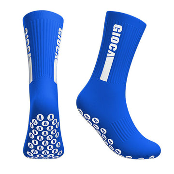 Gioca Grip Socks Royal Blue, Socks, Alpha Group Aust - Football Galaxy