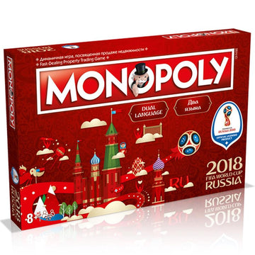 FIFA World Cup 2018 Edition Monopoly, Supporter - Accessories, Taylors - Football Galaxy