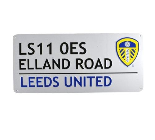 Leeds United Street Sign, Supporter - Accessories, Taylors - Football Galaxy