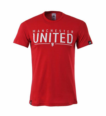 Adidas Manchester United GR Tee Bet, Supporter - Casual Wear, Adidas - Football Galaxy