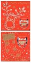 Arsenal FC Christmas Card, Supporter - Accessories, Taylors - Football Galaxy